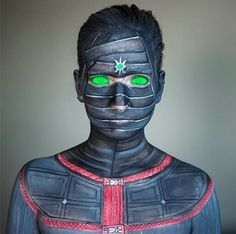 Ermac, Mortal Kombat make-up transformation