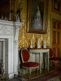 Harewood House    Yellow Drawing Room