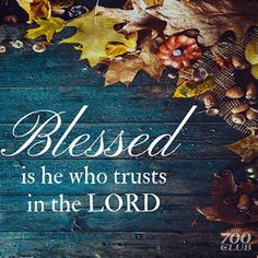 REDE MISSIONÁRIA: TRUST IN THE LORD