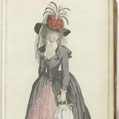 Journal des Luxus und der Moden 1788, Band III, T.2, Friedrich Justin Bertuch, 1788 - Rijksmuseum