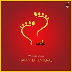 May this Dhanteras Celebrations, endow you with opulence and prosperity. Wishing you a Shubh Dhanteras!