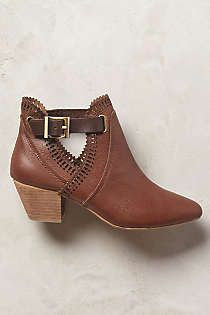 Anthropologie - 67 Collection Judit Cutout Booties