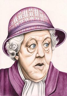 The original Miss Marple : Dame Margaret Rutherford by Margaret Sanderson