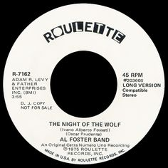 al foster band - night of the wolf /// listen to it on http://radioactive.myl2mr.com /// plattenkreisel - circular record shelf, dj booth, atomic cafe, panatomic, records, rod skunk, vinyl, raregroove, crate digging, crate digger, record collection, record collector, record nerd, record store, turntable, vinyl collector, vinyl collection, vinyl community, vinyl junkie, vinyl addict, vinyl freak, vinyl record, cover art, label scan