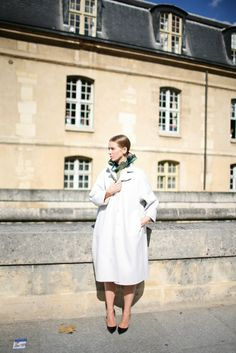 #White coat #2dayslook #anna7891 #whitejacket   http://pinterest.com/anna7891
