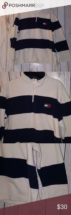 Tommy Hilfiger de sweater size XL Size  Xl 3/4 zip sweater Tommy Hilfiger Sweaters Zip Up