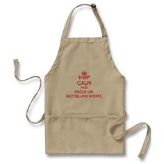 All Aprons 50% Off Only on 25/11/14  Keep Calm and focus on Best-Selling Books Apron