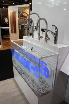 #IDS15 Our faucet display