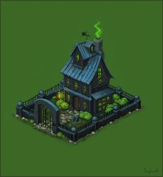 Ghost House by Sephiroth-Art on DeviantArt