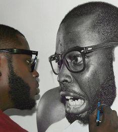 Nigeria's Arinze Stanley Egbe hyperrealism drawings look so.... REAL! - Blackbird Chronicles