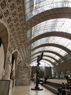 Orsay Museum, Paris #Paris  Musee d'Orsay has one of the world's greatest collections of Impressionist and Post-Impressionist Art.