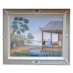 1stdibs - A Large China Trade Painting showing Tending of Silkworms explore items from 1,700  global dealers at 1stdibs.com