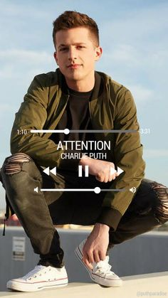 Charlie Puth - Attention | Phone wallpaper