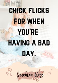 A movie list of all the best chick flick films I like to watch when I'm having a bad day. Can you see your favourite films within the list? Movie List, Movie Tv, Best Chick Flicks, Having A Bad Day, Films, Watch, Blog, Movies, Clock
