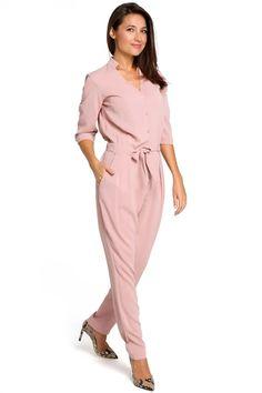 Ένας χώρος με ιδιαίτερα γυναικεία ρούχα και αξεσουάρ , με υψηλή ποιότητα και προσιτές τιμές. Έχουμε τα πιο στιλάτα είδη μόδας, μην ψάχνετε πουθενά αλλού, το Blush Greece είναι το δικό σας προσωπικό κατάστημα. Day To Night Outfits, Pink Jumpsuit, Complete Outfits, Pink Fashion, Jumpsuits For Women, A Line Skirts, Farmer, Wrap Dress, Dresses With Sleeves