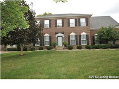 Private golf course setting...in Prospect, Kentucky! 4 BR, 3.5 B. #Oldham County
