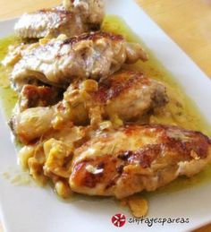 Chicken with mustard sauce Cookbook Recipes, Cooking Recipes, Healthy Recipes, Tasty Dishes, Food Dishes, Food Network Recipes, Food Processor Recipes, Greek Cooking, Kfc