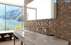 Frattini is DomuS3D® partner - #taps #bathroom #mountains #projectsandinteriors