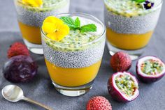 The school year has begun and I started looking for new ideas and recipes for my daughter's breakfast and lunch box.My goal was to create something healthy and delicious.Latestvisit to the nearest Vege shop with beautiful seasonal fruits inspired me for this tropical twist. Сhia pudding is absolutely delicious and …