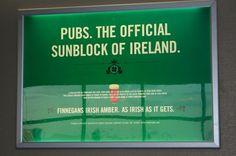 Finnegan's Irish Amber sign.