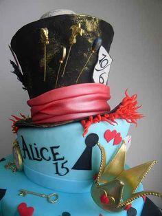 decoracion, modelos y diseño de tortas de 15 años (58)