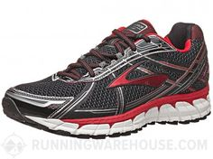 Brooks Adrenaline GTS 15 Men's Shoes - The Brooks Adrenaline GTS 15 is a standard, daily running, support shoe designed for a moderate to severe overpronated foot motion.