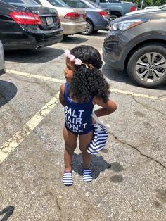 Cute Mixed Babies, Cute Black Babies, Beautiful Black Babies, Beautiful Children, Cute Babies, Cute Kids Fashion, Little Girl Fashion, Toddler Fashion, Black Baby Girls
