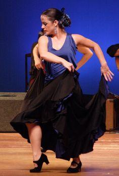 Flamenco Olé - Mojácar and Studio Flamenco - Student Concert - 2009.