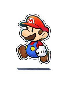 Paper Mario - Mario & Luigi: Paper Jam Mundo Super Mario, Super Mario Art, Super Mario Tattoo, Retro Video Games, Video Game Art, Paper Mario, Mario Party, Mario Brothers, Cool Stickers