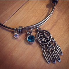 Check out my new shop Chickarella Designs where you can find these dreamcatcher bangles! Keep an eye out for discount codes as well!