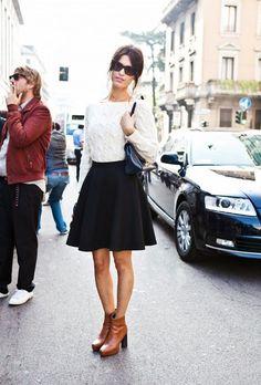 Картинки по запросу chunky sweater and skirt