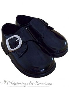 632db0017c06 Boys Special Occasion   Wedding Shoes in Black Patent