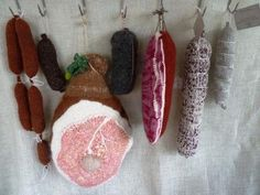 Knitted Butcher Shop Meats via @Craft Magazine #knit