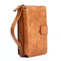 Multifunction Wallet Leather Case For Samsung S4/S5/S6/S7/EDGE/NOTE4-5 Zip-Purse Pouch Phone Case