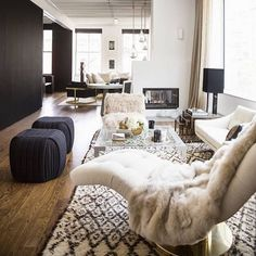 From the archives: Remember when @nateberkus & @jeremiahbrent styled @ritahazan's apartment and we wished we could move in?
