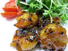 C.A.K.E.: 蜜汁鮭魚&蝦 Honey Sauce with Salmon & Shrimp 4/5/2013