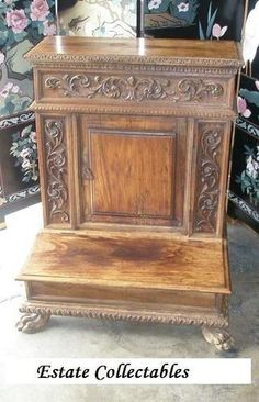 antique prayer bench
