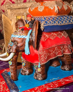 Chris Bosh Moroccan themed Birthday Cake