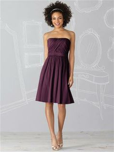 After Six Bridesmaid Dress 6620 (bordeaux) http://www.dessy.com/dresses/bridesmaid/6620/
