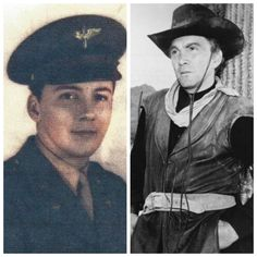 Cameron Mitchell (November 1918 – July born Cameron McDowell Mitzel, served as a bombardier with the United States Army Air Forces during World War II. American Veterans, American Soldiers, Military Veterans, Military Service, Famous Veterans, Joining The Military, Classic Movies, Military History, Armed Forces