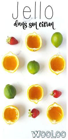 Brisez la routine en présentant votre Jello dans son citron ! Un mini dessert facile à faire et vraiment trop joli! #brisezlaroutine #recette #jello #ad