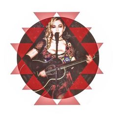 #Madonna #rebelhearttour  #RebelArt by @franplasencia