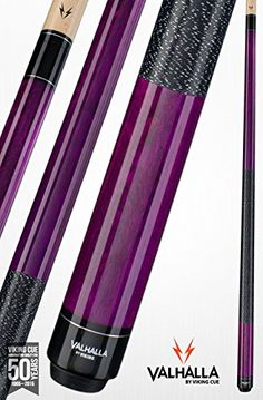 Product by Dart Brokers: New 19 oz Viking Valhalla VA 117 Purple Wrapped Billiard Cue Pool Stick - DART BROKERS SHIPS DIRECT! - priced around $59.99-$.