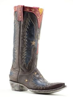 Ladies Old Gringo Where The Eagle Flies Boots L1428-3 - Texas Boot Company is located in Bastrop, Texas. www.texasbootcompany.com