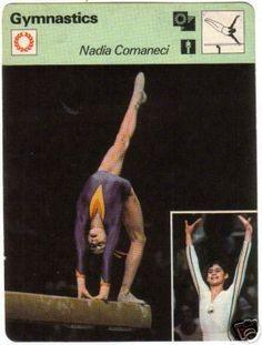 1977 Nadia Comaneci SPORTSCASTER Romania Olympic 10 03   eBay