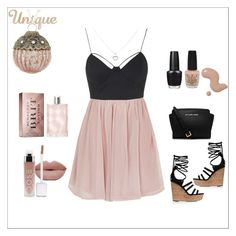 """Unique. "" by amnaaurangzeb on Polyvore featuring Rare London, Tamara Mellon, Michael Kors, OPI, Burberry, women's clothing, women's fashion, women, female and woman"