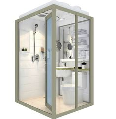 2018 New Style Energy Saving, Water Saving, Space Saving Complete Cheap Shower Pods purchasing, souring agent Small Bathroom With Shower, Rv Bathroom, Outdoor Bathrooms, Bathroom Windows, Modern Bathroom, Bathroom Layout, Small Bathrooms, Master Bathroom, Bathroom Ideas