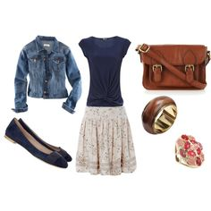 Untitled #5 by shaleenmarie on Polyvore featuring Jane Norman, H&M, Chloé, Oasis, Friis & Company and Kendra Scott