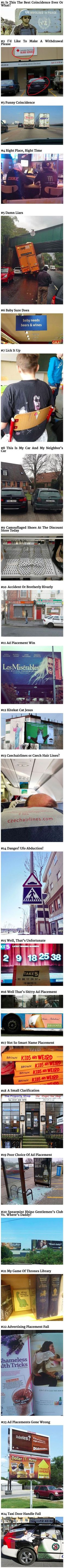 Once you see these 24 everyday coincidences, they cannot be unseen.