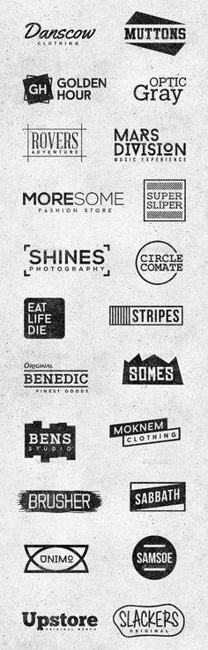 Minimal Logo/Badges Bundle   Graphics Design   Design Blog